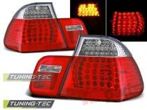 BMW E46 09.01-03.05 SEDAN RED WHITE LED LDBM78