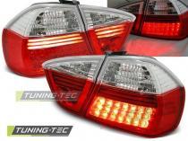 BMW E90 03.05-08.08 RED WHITE LED LDBM26