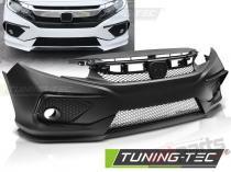 Front Bumper for HONDA CIVIC X 16-18 SEDAN CONCEPT STYLE - ZPHO01