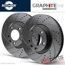 Front Sport Brake Disks Mini Cooper R50,  R53,  R52 - 2822/T5
