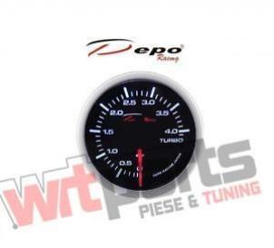 DEPO RACING DIGITAL TURBO BOOST GAUGE 4BAR 52MM - WS-MW5201B-0-4BAR