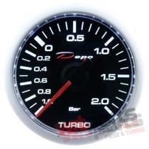 DEPO gauge CSM 52mm - TURBO ELECTRIC -1 to 2 BAR - DP-ZE-001