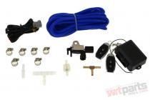 Exhaust Cutout Set Pneumatic 76mm Vacuum Open - EP-EP-069