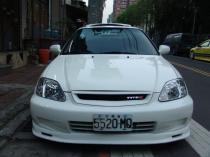 ABS lip front Honda Civic VI 2/3/4 D 99-00 Mugen - PP-DO-014