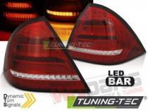 LED BAR TAIL LIGHTS RED WHIE SEQ fits MERCEDES W203 SEDAN  - LDMED4