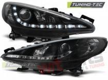 PEUGEOT 207 05.06-06.12 DAYLIGHT BLACK W/MOTOR LPPE33