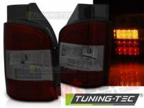 LED TAIL LIGHTS RED SMOKE fits VW T5 10-15 TRASNPORTER LDVWN7