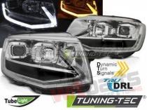 HEADLIGHTS TUBE LIGHT T6 LOOK CHROME fits VW T5 2010-2015 LPVWT1