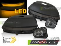 SIDE DIRECTION IN THE MIRROR SMOKE LED SEQ fits VW PASSAT B7 KBVW25