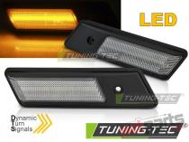 SIDE DIRECTION CHROME LED SEQ fits BMW E34/E32/E36 - KBBM45
