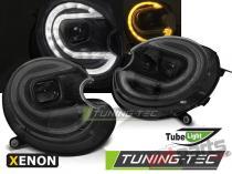 HEADLIGHTS TUBE LIGHT CHROME LED fits MINI (COOPER) 06-14 LPMC19