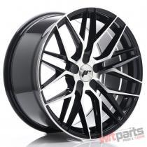 JR Wheels JR28 19x9,  5 ET35-40 5H BLANK Gloss Black Machined Face JR2819955X3574GBM