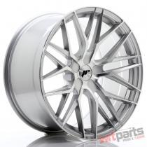 JR Wheels JR28 20x10 ET40 5H BLANK Silver Machined Face JR2820105X4074SM