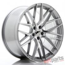 JR Wheels JR28 20x10 ET40 5x120 Silver Machined Face JR2820105I4072SM