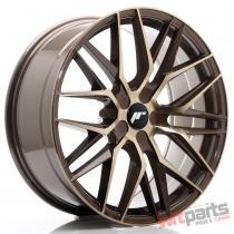 JR Wheels JR28 20x8,  5 ET20-40 5H BLANK Platinum Bronze JR2820855X2074BZP