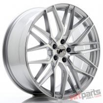 JR Wheels JR28 20x8,  5 ET35 5x120 Silver Machined Face JR2820855I3572SM
