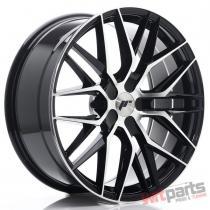 JR Wheels JR28 20x8,  5 ET40 5H BLANK Gloss Black Machined Face JR2820855X4074GBM