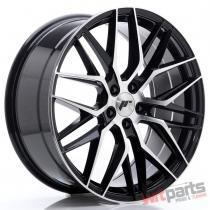 JR Wheels JR28 20x8,  5 ET40 5x108 Gloss Black Machined Face JR2820855M4065GBM