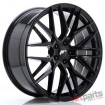 JR Wheels JR28 20x8,  5 ET40 5x108 Glossy Black JR2820855M4065GB