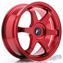 JR Wheels JR3 17x7 ET40-42 BLANK Platinum Red - JR31770XX4073RP2