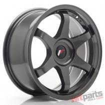 JR Wheels JR3 17x8 ET35 BLANK Hyper Gray - JR31780XX3573HG