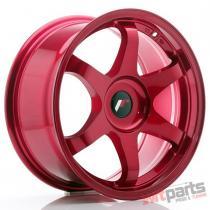 JR Wheels JR3 17x8 ET35 BLANK Platinum Red - JR31780XX3573RP2
