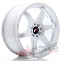 JR Wheels JR3 18x10 ET10-30 BLANK White - JR31810XX1074W