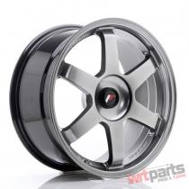 JR Wheels JR3 18x8,  5 ET35-42 BLANK Hyper Black - JR31885XX3574HB