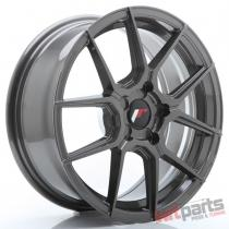 JR Wheels JR30 17x7 ET20-40 5H BLANK Hyper Gray - JR3017705X2074HG