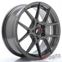 JR Wheels JR30 17x7 ET40 5x100 Hyper Gray - JR3017705K4067HG