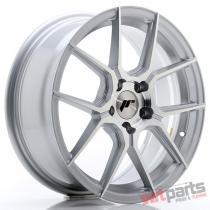 JR Wheels JR30 17x7 ET40 5x112 Silver Machined Face - JR3017705L4066SM