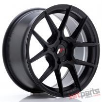 JR Wheels JR30 17x8 ET20-40 5H BLANK Matt Black - JR3017805X2074BF