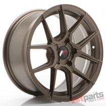 JR Wheels JR30 17x8 ET20-40 5H BLANK Matt Bronze - JR3017805X2074MBZ