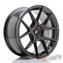 JR Wheels JR30 17x8 ET40 4x100 Hyper Gray - JR3017804H4067HG