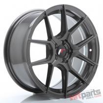 JR Wheels JR30 17x8 ET40 5x100 Hyper Gray - JR3017805K4067HG