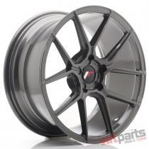 JR Wheels JR30 18x8,  5 ET40 5H BLANK Hyper Gray - JR3018855X4074HG