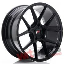 JR Wheels JR30 18x8,  5 ET40 5x112 Black Brushed w/Tinted Face - JR3018855L4066GBBF