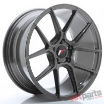 JR Wheels JR30 18x8,  5 ET40 5x112 Hyper Gray - JR3018855L4066HG
