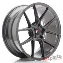 JR Wheels JR30 19x8,  5 ET20-42 5H BLANK Hyper Gray - JR3019855X2074HG
