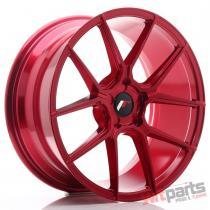 JR Wheels JR30 19x8,  5 ET20-42 5H BLANK Platinum Red - JR3019855X2074RP2