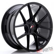 JR Wheels JR30 19x8,  5 ET35-42 5H BLANK Glossy Black - JR3019855X3574GB
