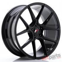 JR Wheels JR30 19x8,  5 ET40 5x112 Glossy Black - JR3019855L4066GB