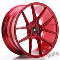 JR Wheels JR30 19x8,  5 ET40 5x112 Platinum Red - JR3019855L4066RP2