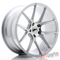 JR Wheels JR30 19x9,  5 ET40 5x120 Silver Machined Face - JR3019955I4072SM