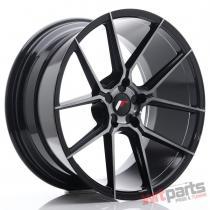 JR Wheels JR30 20x10 ET20-40 5H BLANK Black Brushed w/Tinted Face - JR3020105X2074GBBF