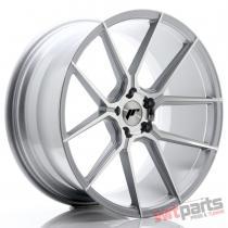 JR Wheels JR30 20x10 ET40 5x120 Silver Machined Face - JR3020105I4072SM