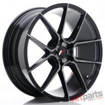 JR Wheels JR30 20x8,  5 ET20-42 5H BLANK Black Brushed w/Tinted Face - JR3020855X2074GBBF