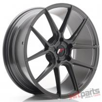 JR Wheels JR30 20x8,  5 ET20-42 5H BLANK Hyper Gray - JR3020855X2074HG