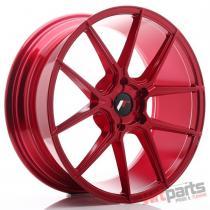 JR Wheels JR30 20x8,  5 ET20-42 5H BLANK Platinum Red - JR3020855X2074RP2