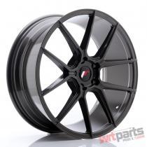 JR Wheels JR30 20x8,  5 ET40 5x112 Hyper Gray - JR3020855L4066HG